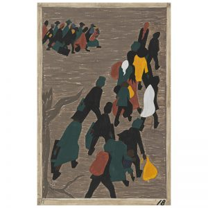 Jacob Lawrence - Migration Panel 18
