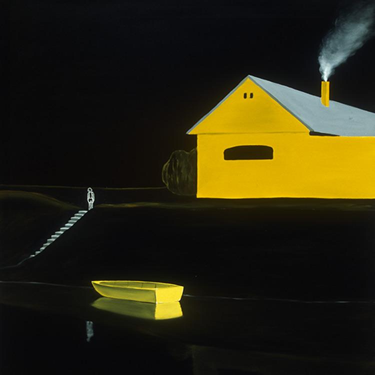 László Fehér - Yellow Boat